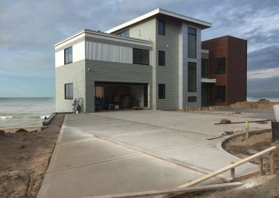 Driveway for a Beachhouse