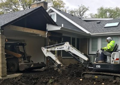 Excavating for an Addition