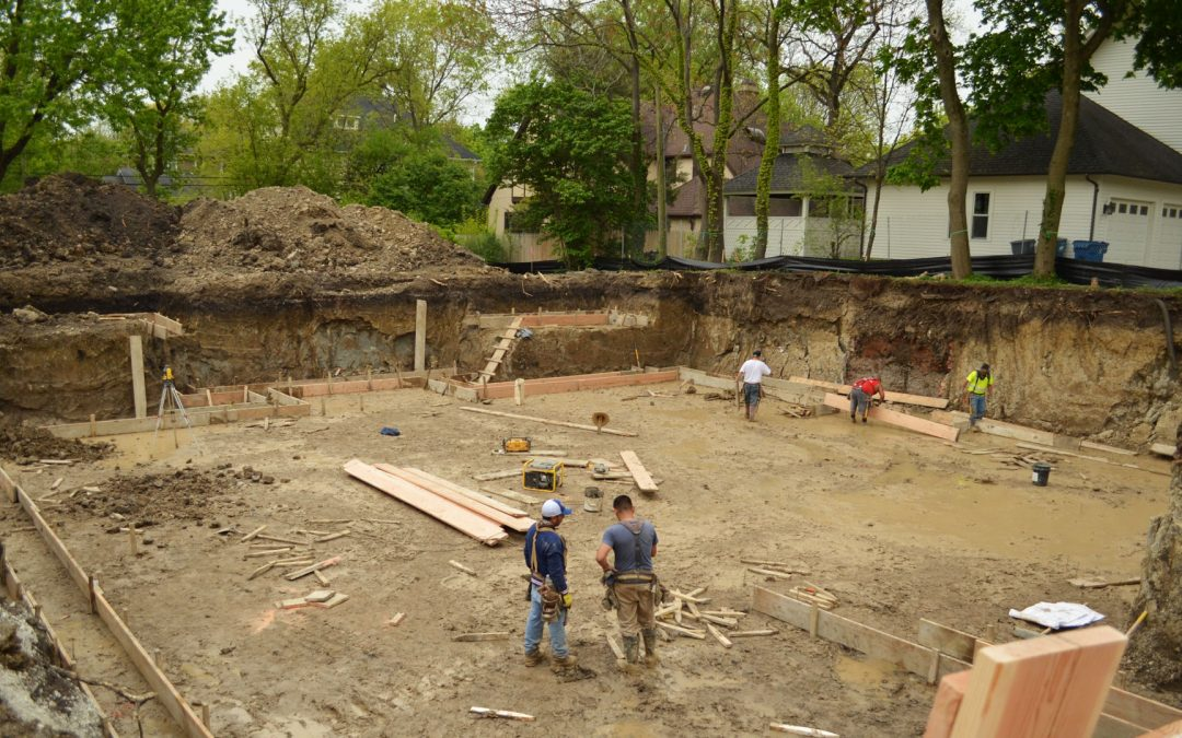 Foundation for a Custom Luxury Home